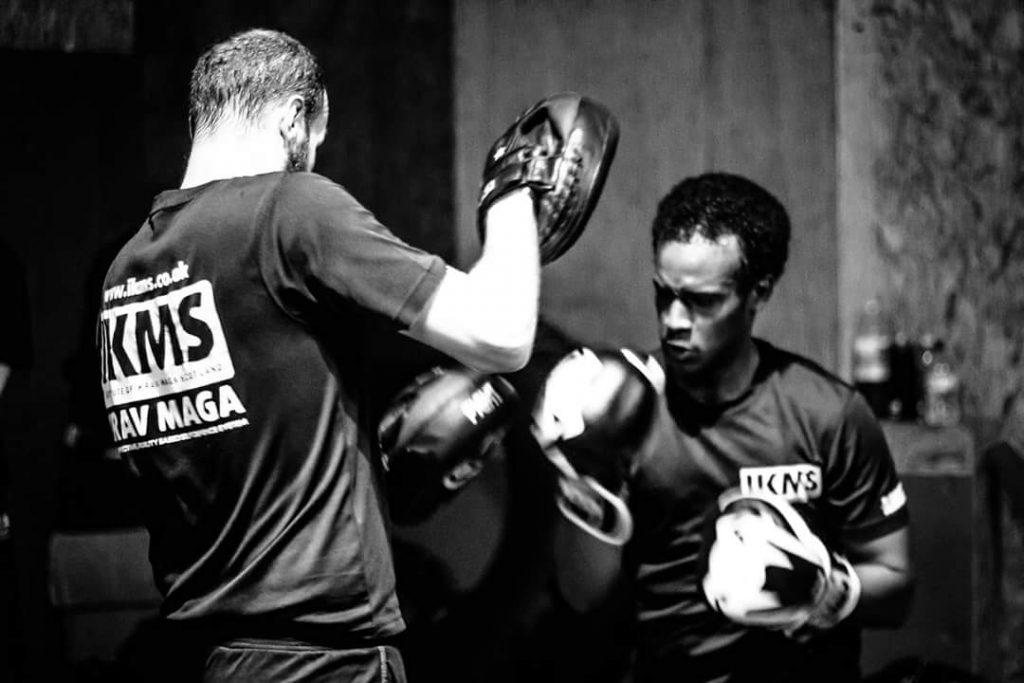 Focus Pad Striking Training